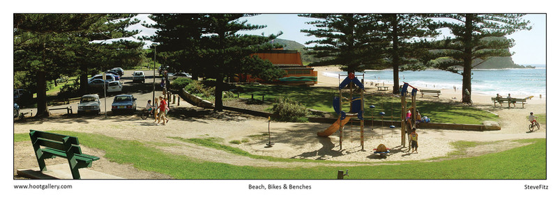 Beach Bikes & Benches