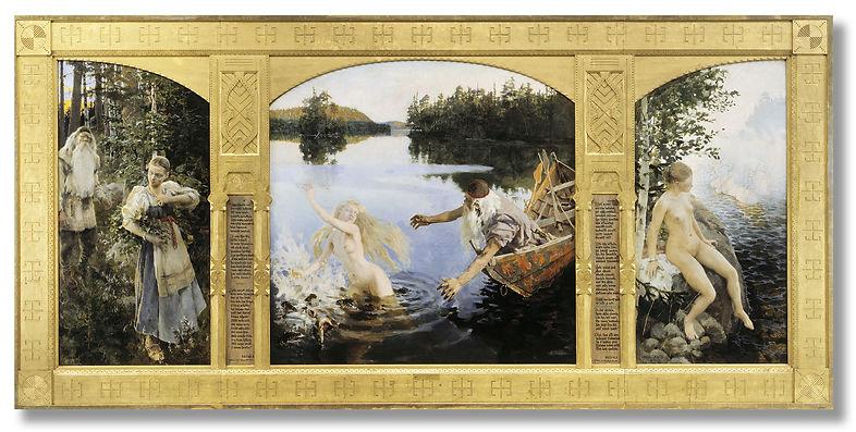 The-Aino-Myth-Akseli-Gallen-Kallela-1891