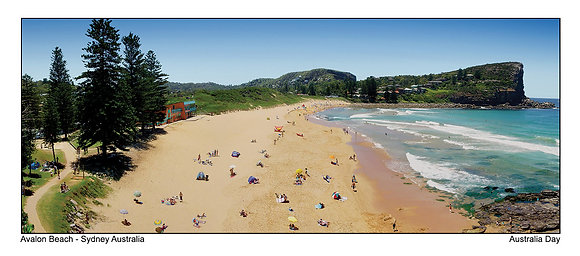Avalon Beach Australia Day