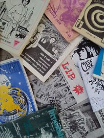 A scattered collection of lesbian zines