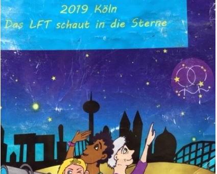 Lesbian Conference (Lesbian Feminist Treffin) in Cologne.
