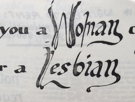 For lesbian lips only.