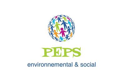 Logo PEPS environnemental social logo plate-forme