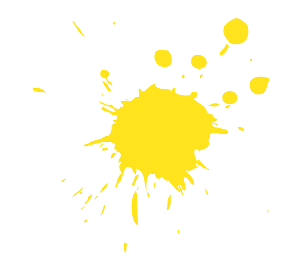 yellow splash