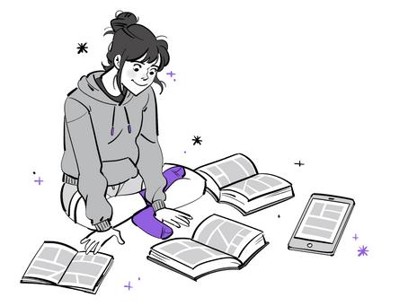 Como eu estudo quadrinhos