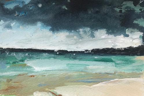 Indigo Sky, Porthminster Beach (study)