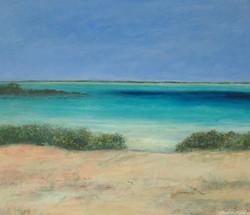 Calm Turquoise Sea, Yas Island