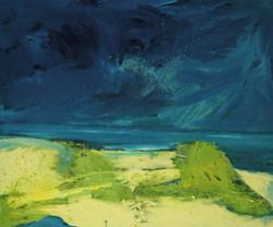Storm over Saadiyat Island