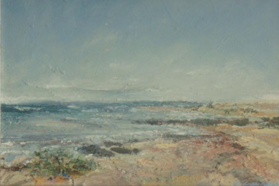 Cerulean Sky, Cool Grey Shore