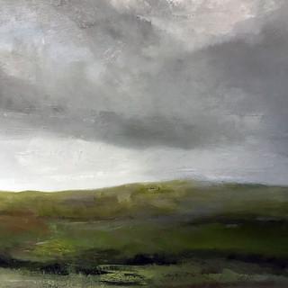 Moorland, oil on canvas, 83cm x 59cm.jpe