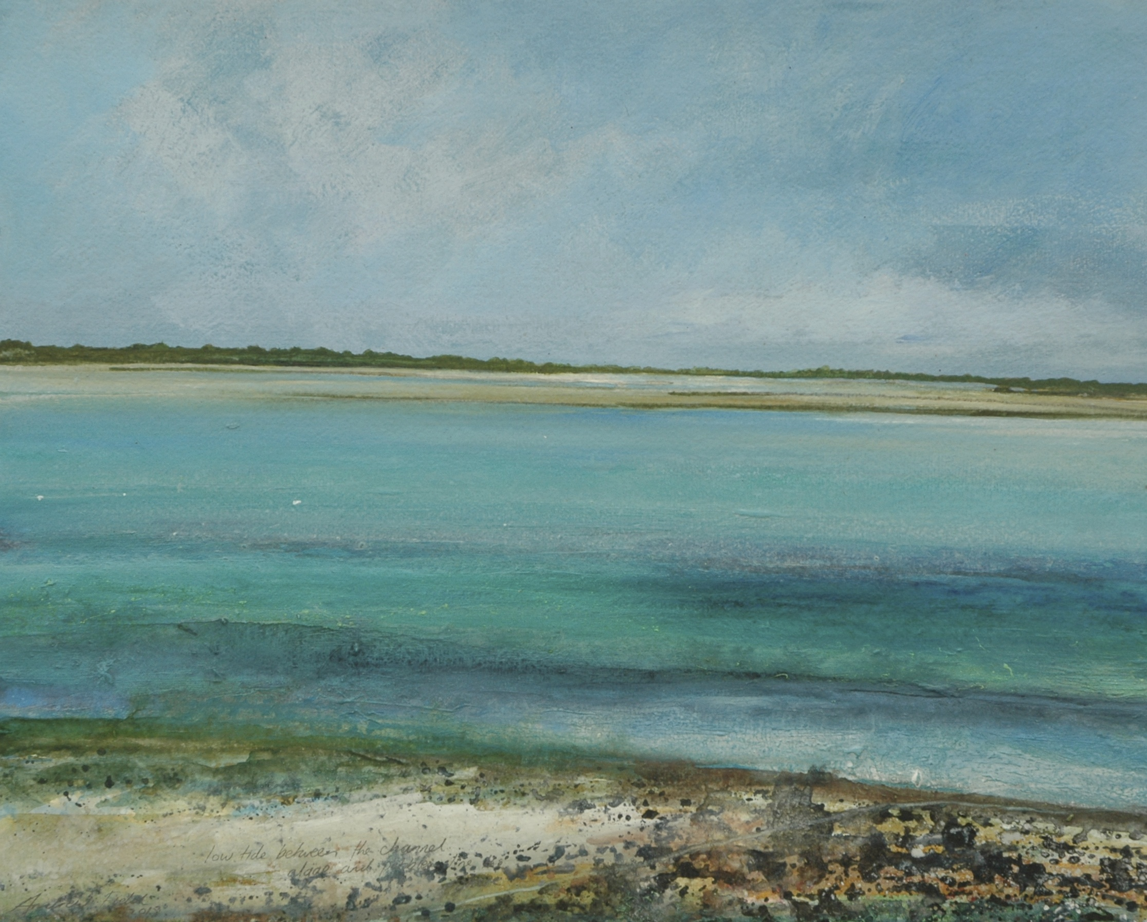 Low Tide Between The Channel, 2013