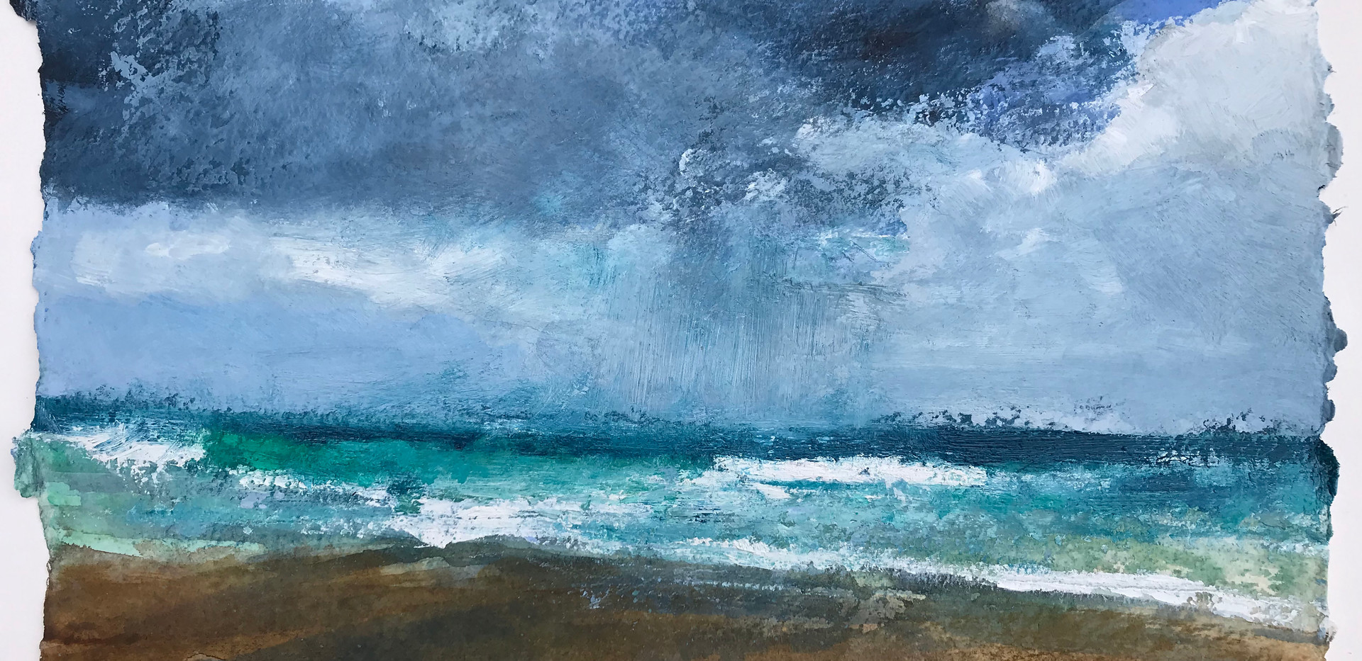 Storm_Out_At_Sea,_28cm_x_42cm,_oil_on_ha