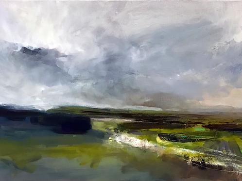 Malham, oil on canvas, 84cm x 60cm