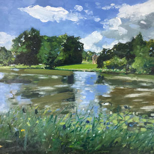 Compton Verney, Afternoon Fishing