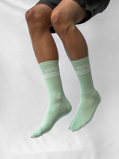 Socks Mint Lines