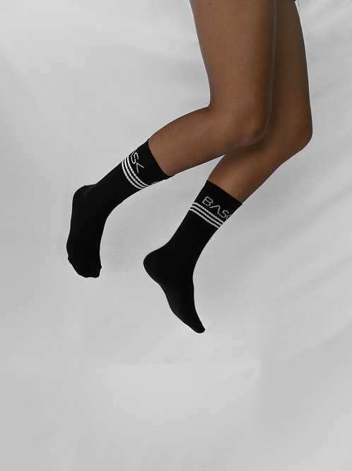 Socks Black Lines