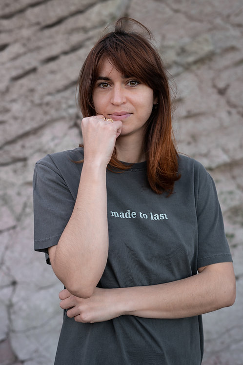 Camiseta Made to Last