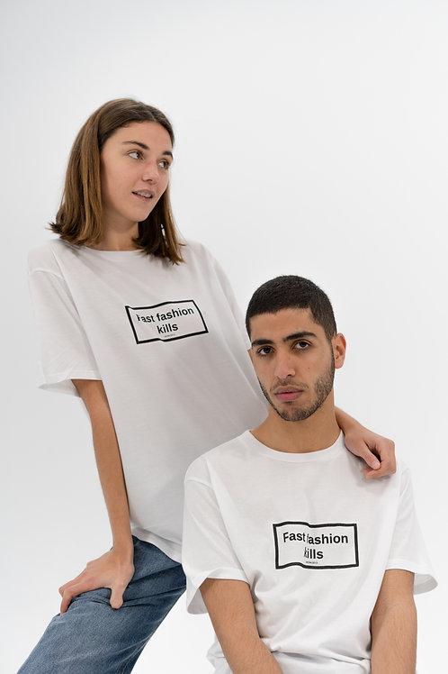 Fast Fashion Kills No gender White