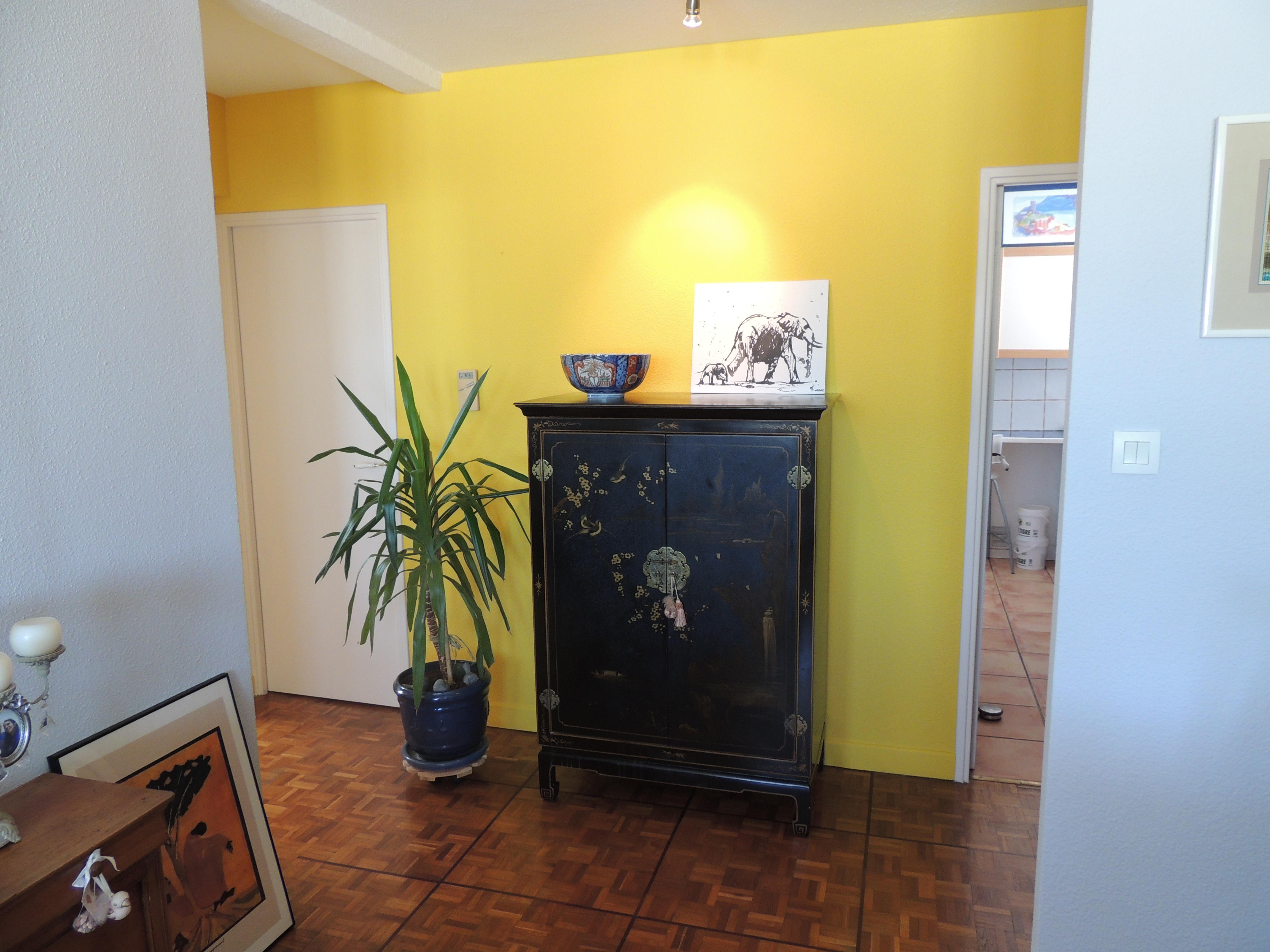 Mise en valeur d'un meuble chinois
