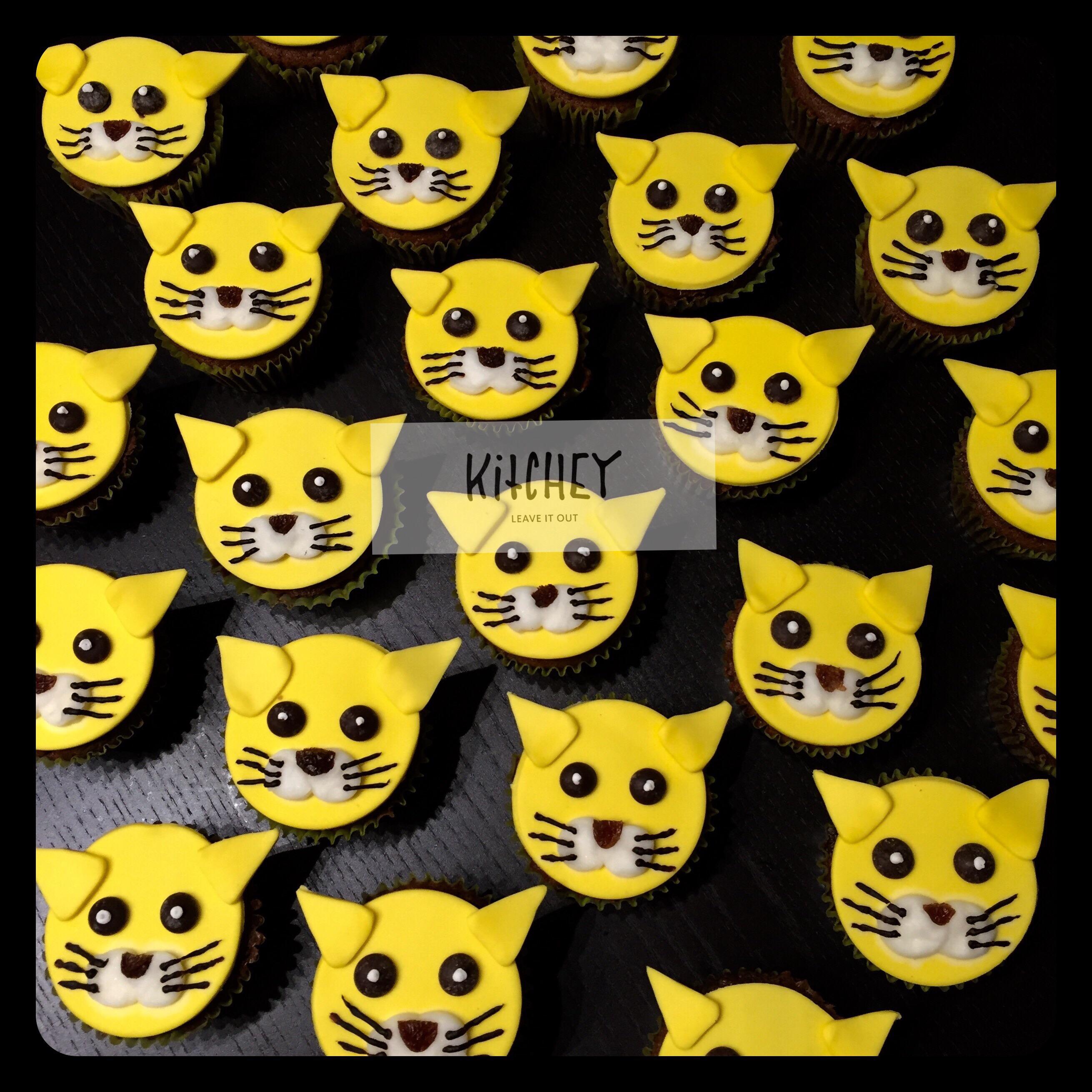 Chocolate Cat Cupcakes