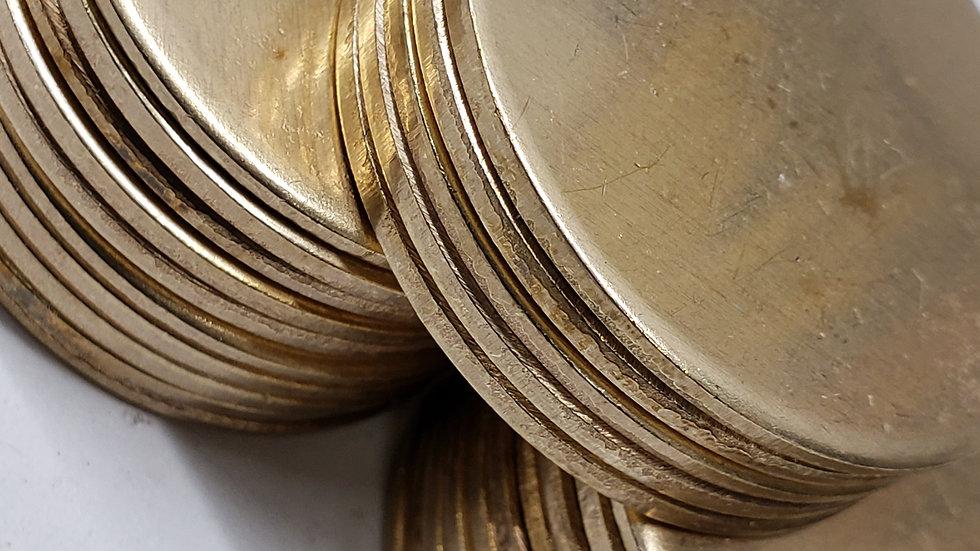 1 1/2' Brass Coins (25ct)