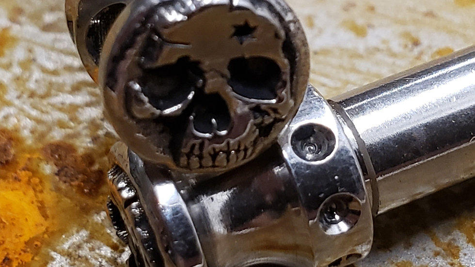 Coffin Pins AKA AR15 over sized takedown pins.