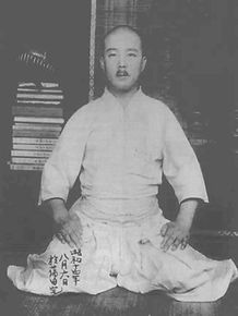 Sensei Yasuhiro Konishi, founder of Shindo Jinen Ryu karate.