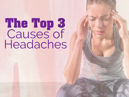 The Top 3 Causes of Headaches