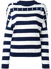 Jil Sander striped jumper SS17