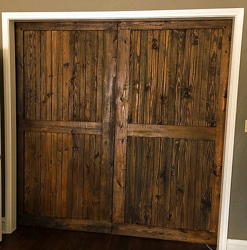 Wrangler Model Barn Door