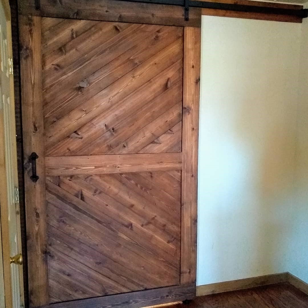 Horizon barn door