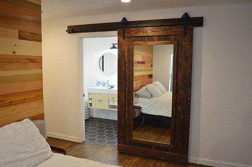 Mirror Model Barn Door