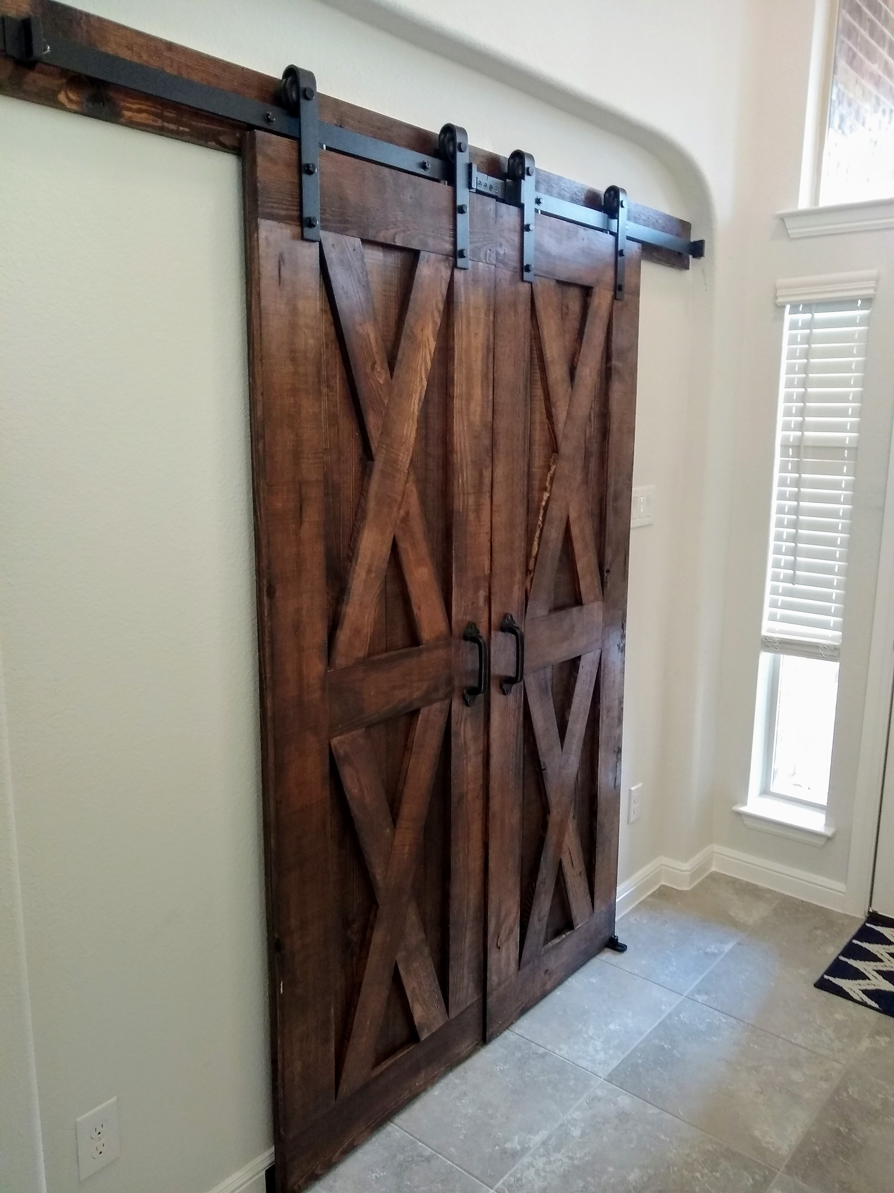 Double Traditional model doors