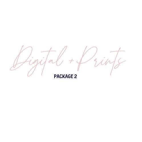 Digital Media + Prints Package 2