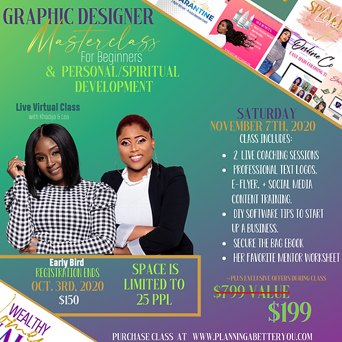 Graphic Designer Masterclass for Beginners