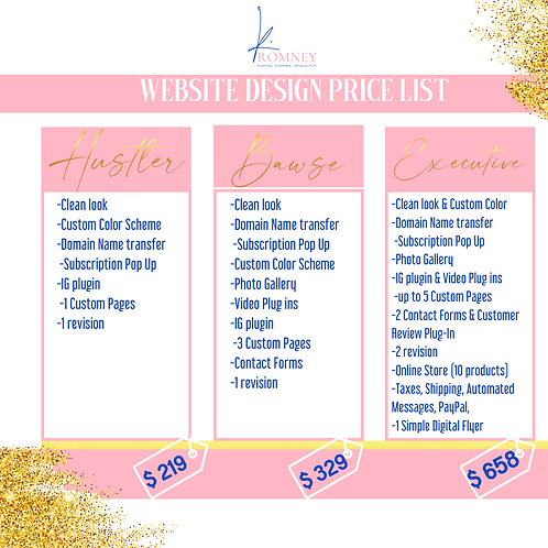 Website Design (Bawse)