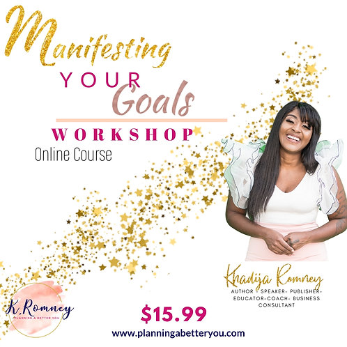 Manifesting Your Goals Course Info