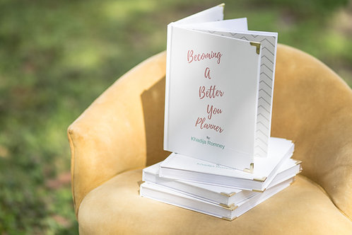 Becoming a Better You Planner - Undated
