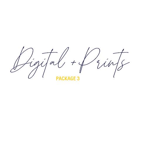 Digital Media + Prints Package 3
