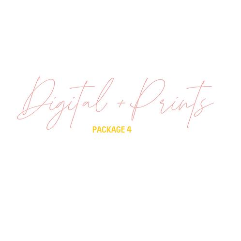 Digital + Prints Package 4