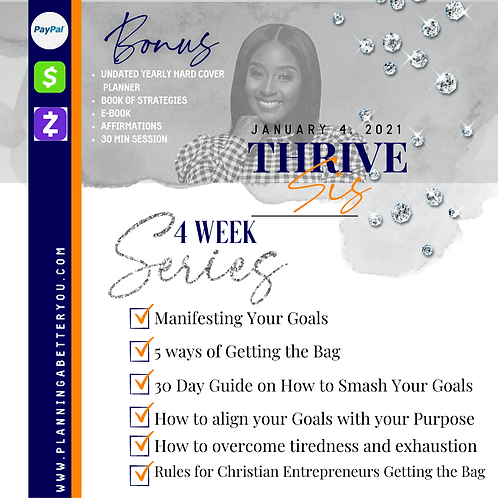 Thrive, Sis 4 Week Series