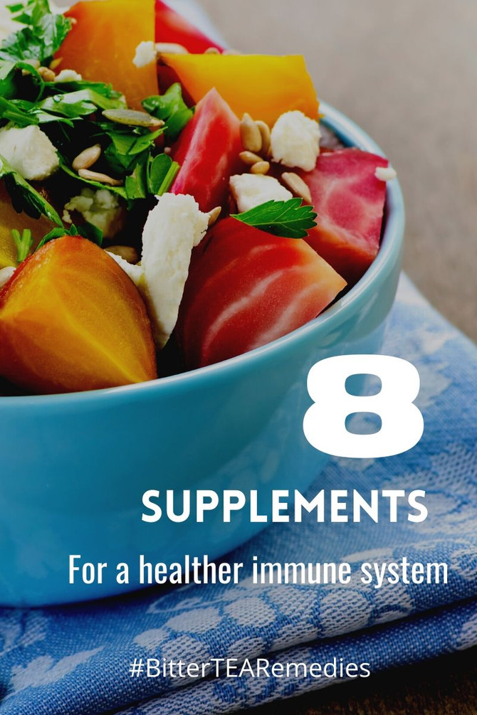 8 Supplements for a Healthly Immunity