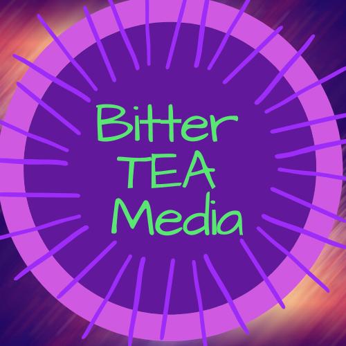 Logo for Bitter TEA Media is a Work in Progress