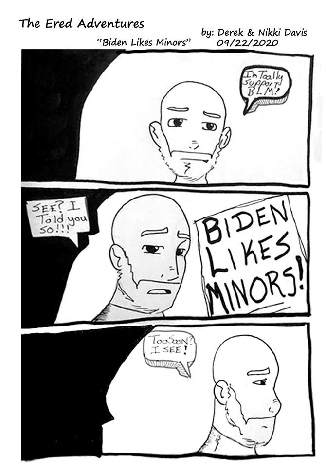 Biden Likes Minors