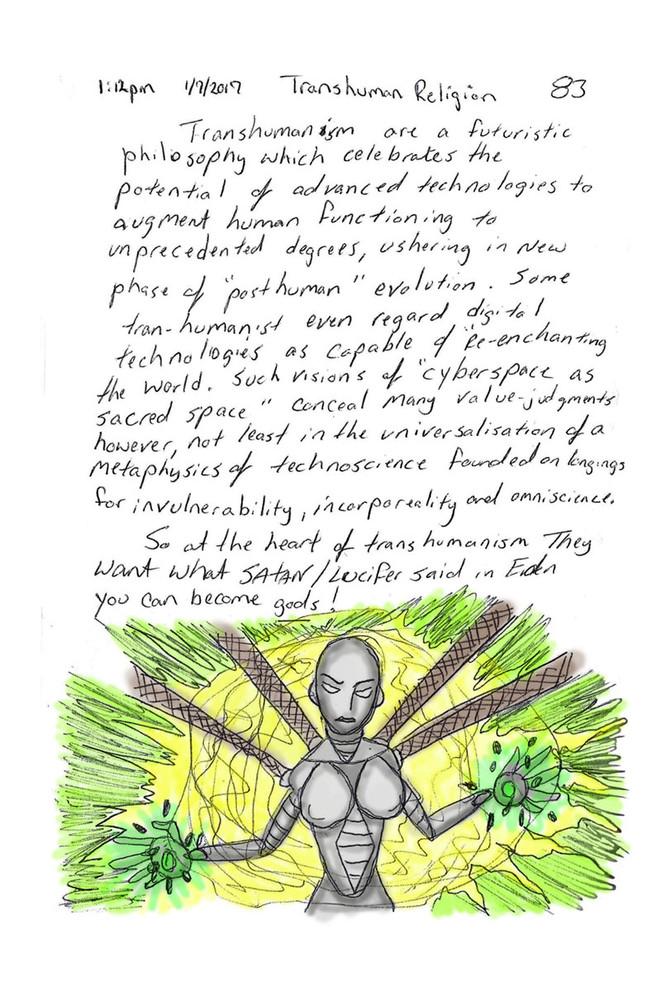 Religion of... Transhumanism