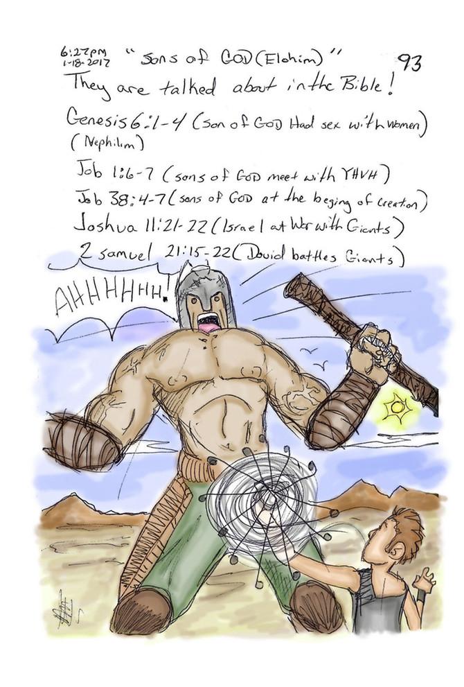 Goliath: Descendent of Sons of GOD