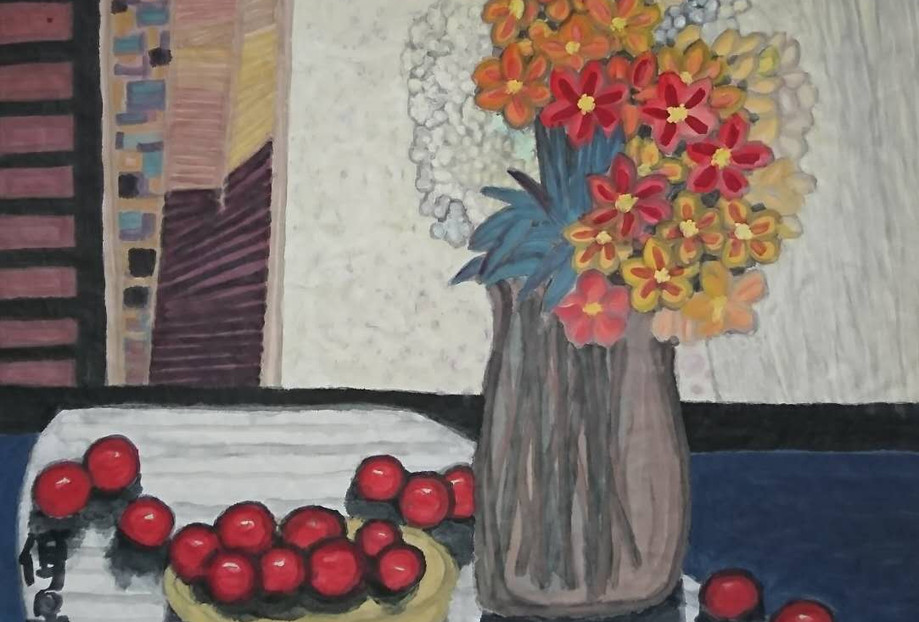 The Flowers And The Fruit 2010Y 69*67cm