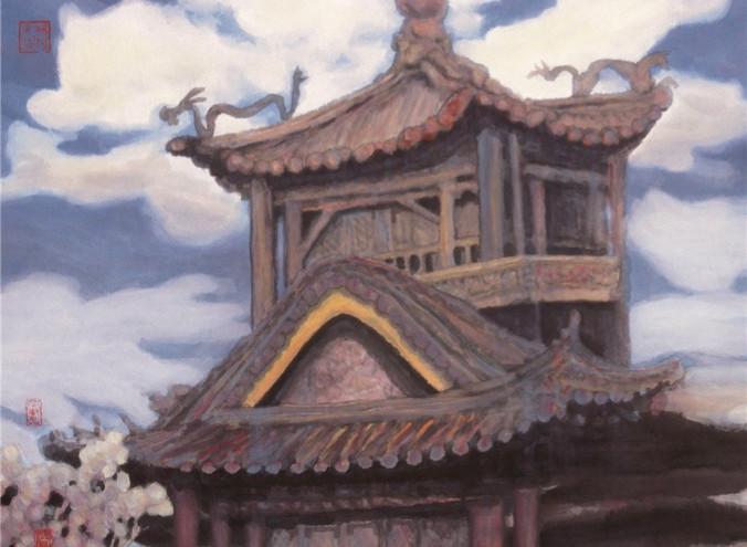 The Forbidden City 2003Y 66*97.5cm