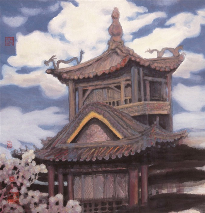 The Forbidden City 2003Y 66*97.5cm