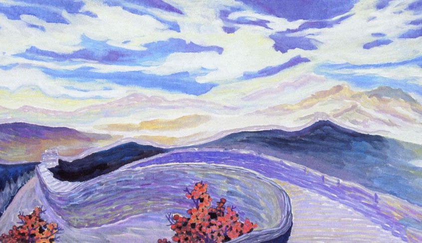 The Great Wall 2005Y 44*90cm